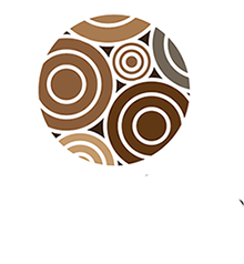 The custom wood shop Logo